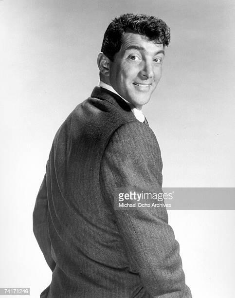 Singer Dean Martin poses for a promotional photograph circa 1959