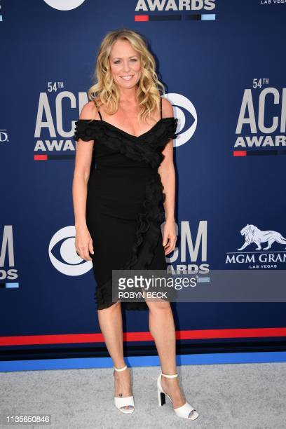 US singer Deana Carter arrives for the 54th Academy of Country Music Awards on April 7 at the MGM Grand Garden Arena in Las Vegas Nevada
