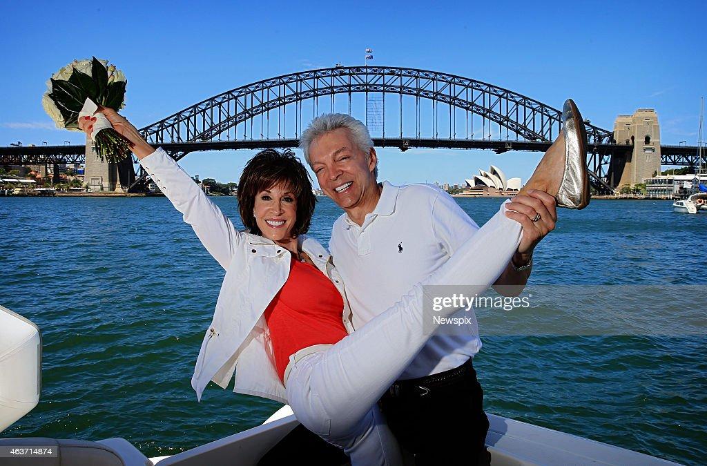 Deana Martin Renews Wedding Vows On Sydney Harbour : News Photo