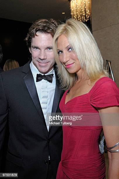 Singer Debbie Gibson and boyfriend Rutledge Taylor arrive at the 11th Annual Children Uniting Nations Oscar Celebration held at the Beverly Hilton...
