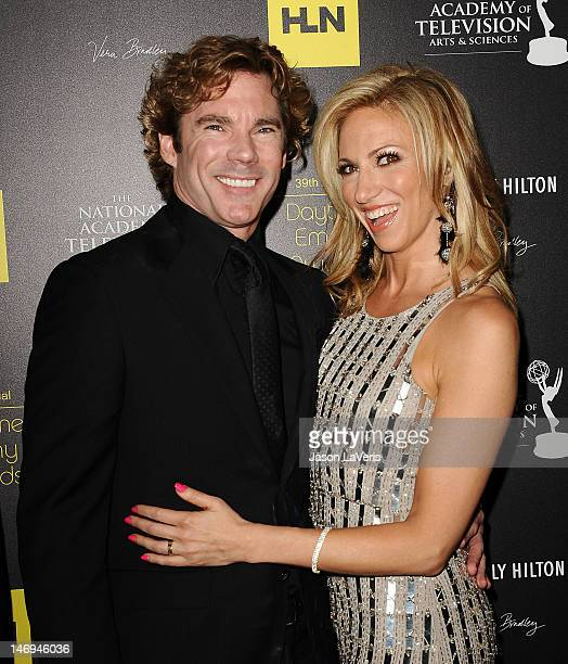 Singer Debbie Gibson and Dr Rutledge Taylor attend the 39th annual Daytime Emmy Awards at The Beverly Hilton Hotel on June 23 2012 in Beverly Hills...
