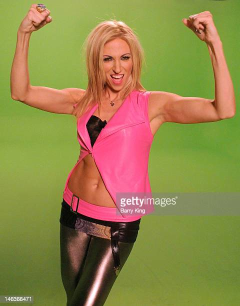 Singer Debbie Gibson performs during the 'Electric Youth Reloaded' Video Shoot on June 14 2012 in Los Angeles California