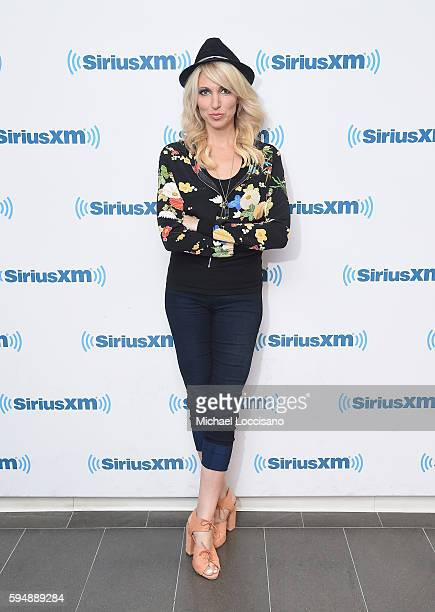 Singer Debbie Gibson visits SiriusXM Studios on August 24 2016 in New York City