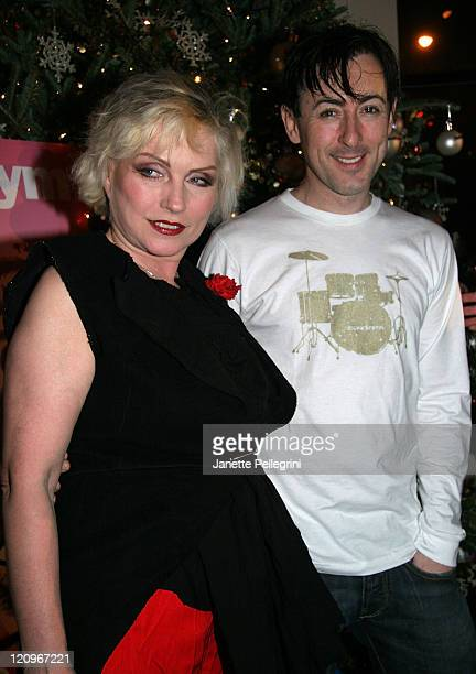 Singer Debbie Harry and Actor Alan Cumming attend 2007 Saint Jude's Toy Drive at DAVIDBARTONGYM on December 11 2007 in New York City