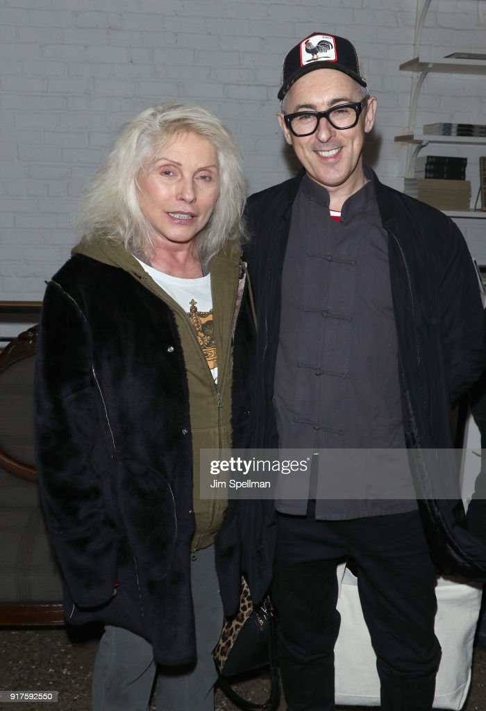 Singer Debbie Harry and actor Alan Cumming attend the screening after party for 'The Party' hosted by Roadside Attractions and Great Point Media with The Cinema Society at Metrograph on February 12, 2018 in New York City.