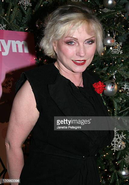 Singer Debbie Harry attends 2007 Saint Jude's Toy Drive at DAVIDBARTONGYM on December 11 2007 in New York City