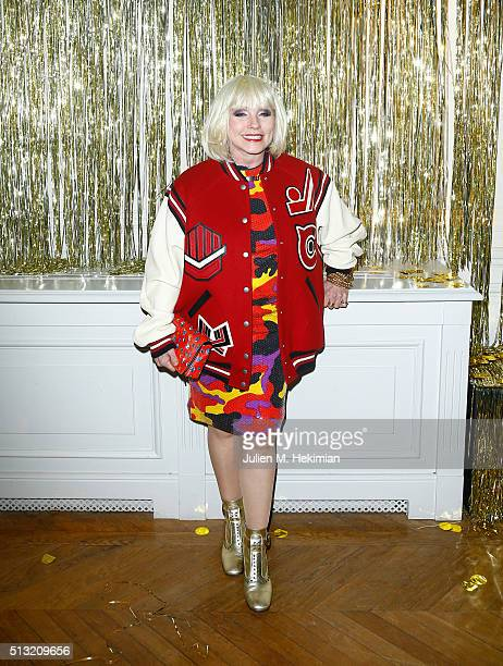 Singer Debbie Harry attends at Hotel Salomon de Rothschild on March 1 2016 in Paris France
