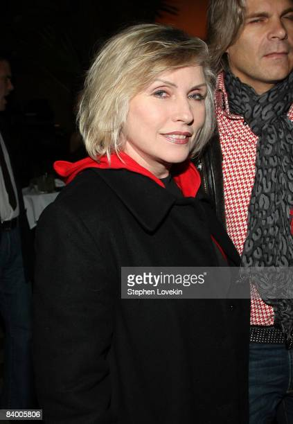 Singer Debbie Harry attends the after party for The Curious Case of Benjamin Button screening hosted by The Cinema Society Pamella Rolland and Svedka...