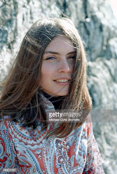 Singer Debbie Harry of American folkrock group Wind In The Willows circa 1968 She later found fame as the singer with new wave pop group Blondie