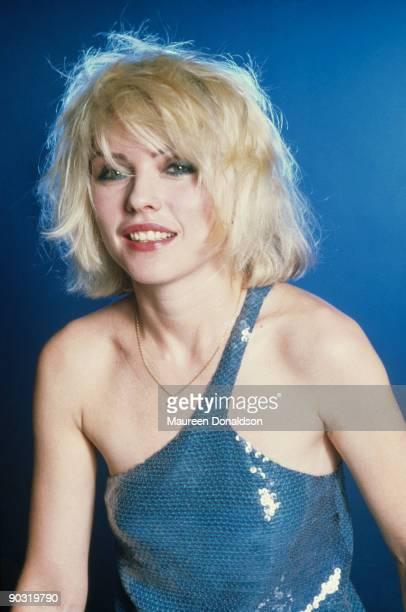 Singer Debbie Harry of American punk rock band Blondie 1979
