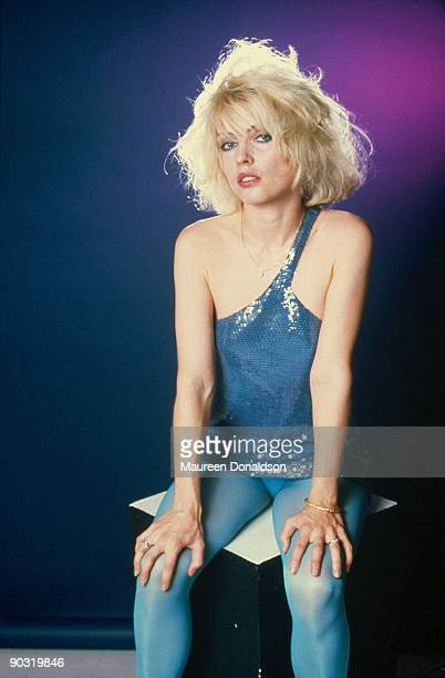 Singer Debbie Harry of American punk rock band Blondie 1979