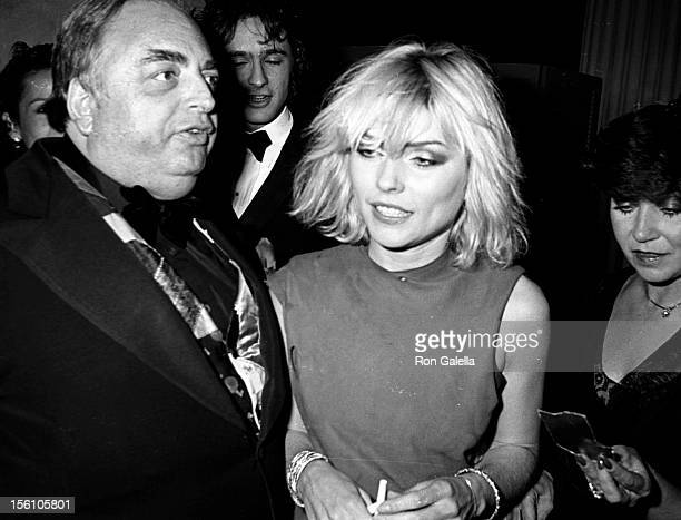 Singer Debbie Harry of Blondie attending 'Costume Exhibit Fashions from the Hapsburg Era' on December 3 1979 at the Metropolitan Museum of Art in New...