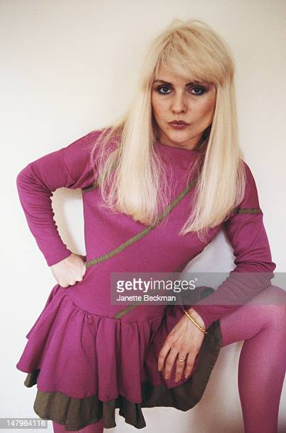 Singer Debbie Harry of Blondie London May 1982