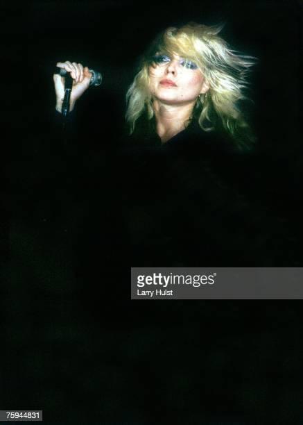 DEBORAH DEBBIE HARRY BLONDIE CONCERTO ANNI 1980 Cool Colore 8X10 PHOTO 20x25cm circa