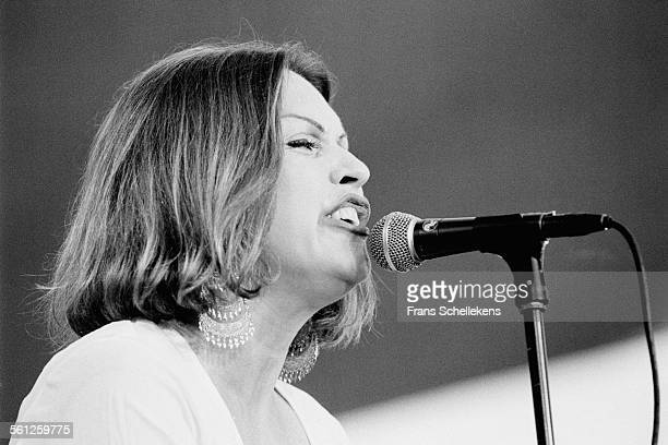 Singer Debbie Harry, performs on July 14th 1995 at the North Sea Jazz Festival in the Hague, Netherlands.