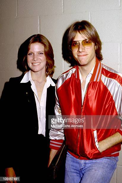Singer Debby Boone and her husband Gabriel Ferrer pose for a photo circa 1979 in Los Angeles California
