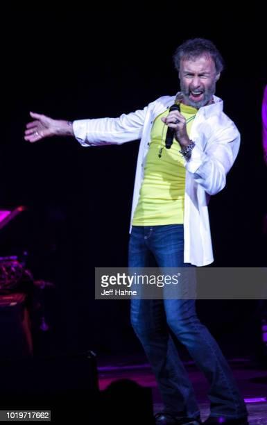 Singer Deborah Bonham performs at PNC Music Pavilion on August 19 2018 in Charlotte North Carolina