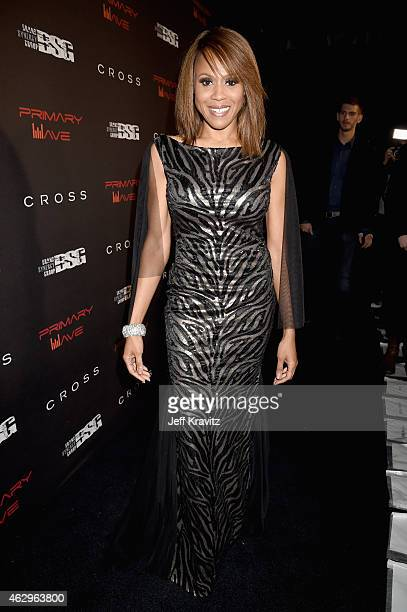 Singer Deborah Cox attends the Primary Wave 9th Annual PreGrammy Party at RivaBella on February 7 2015 in West Hollywood California