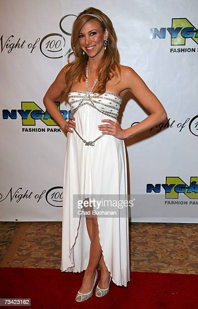 Singer Deborah Gibson attends the 17th Annual Night Of 100 Stars Oscar Gala held at the Beverly Hills Hotel on February 25, 2007 in Beverly Hills,...