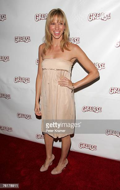 Singer Deborah Gibson attends the after party for the opening night of the Broadway musical 'Grease' on August 19 2007 in New York City