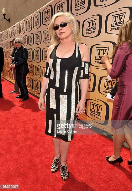 Singer Deborah Harry arrives at the 8th Annual TV Land Awards at Sony Studios on April 17 2010 in Los Angeles California