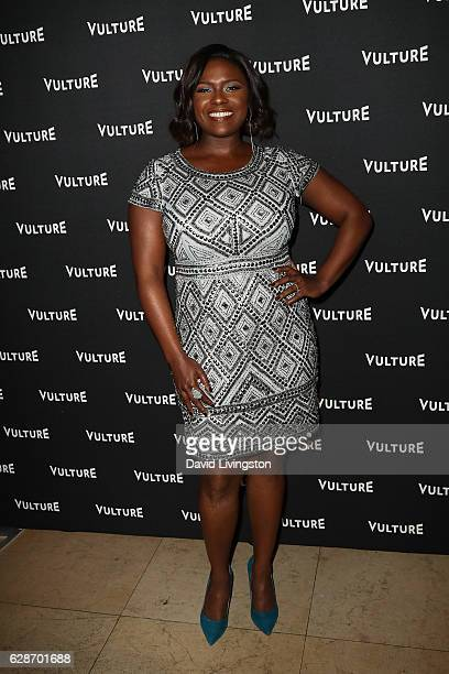 Singer Deborah Joy Winans arrives at the Vulture Awards Season Party at the Sunset Tower Hotel on December 8 2016 in West Hollywood California