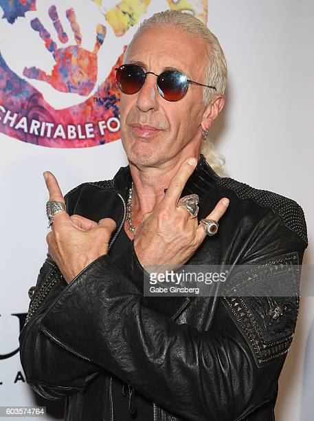 Singer Dee Snider of Twisted Sister attends Criss Angel's HELP charity event at the Luxor Hotel and Casino benefiting pediatric cancer research and...