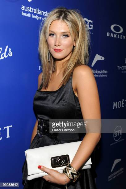 Singer Delta Goodrem arrives at Australians In Film's 2010 Breakthrough Awards held at Thompson Beverly Hills on May 13 2010 in Beverly Hills...