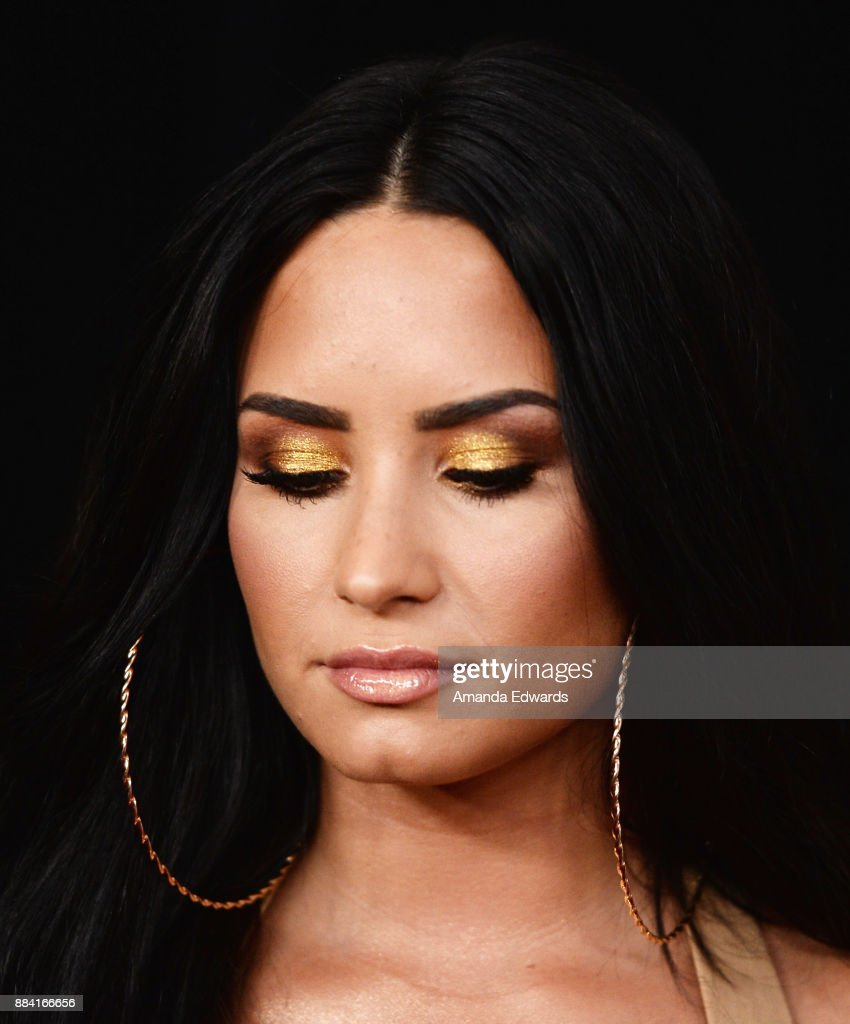 Singer Demi Lovato arrives at 102.7 KIIS FM's Jingle Ball 2017 at The Forum on December 1, 2017 in Inglewood, California.