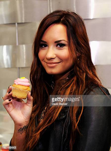 Singer Demi Lovato attends the 12th Annual Latin GRAMMY Awards Gift Lounge held at the Mandalay Bay Events Center on November 10 2011 in Las Vegas...