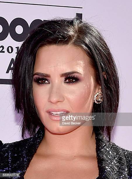 Singer Demi Lovato attends the 2016 Billboard Music Awards at TMobile Arena on May 22 2016 in Las Vegas Nevada