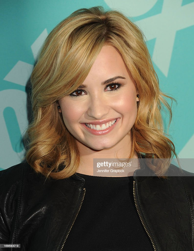 Singer Demi Lovato attends the FOX 2103 Programming Presentation Post-Party at Wollman Rink in Central Park on May 13, 2013 in New York City.