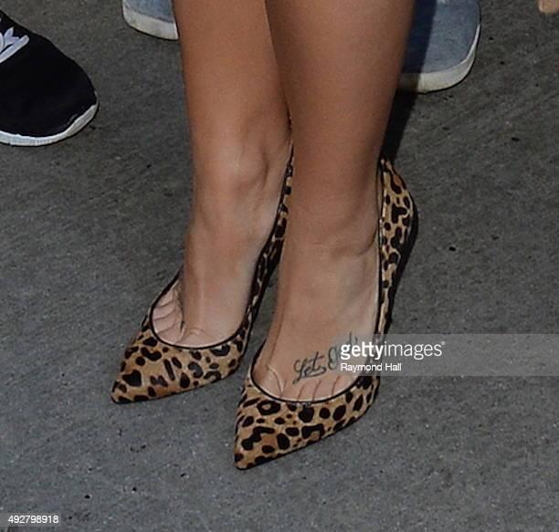 Singer Demi Lovato is seen in Soho on October 15 2015 in New York City
