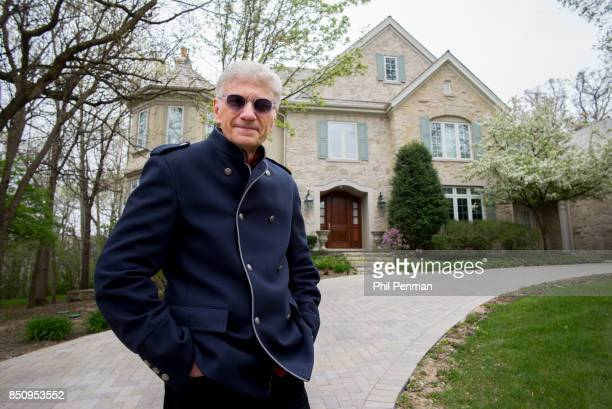 Singer Dennis DeYoung is photographed for Closer Weekly Magazine on April 26 2016 at home in Illinois PUBLISHED IMAGE