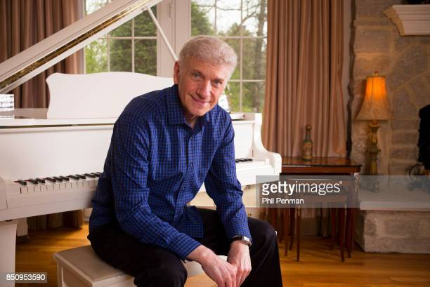 Singer Dennis DeYoung is photographed for Closer Weekly Magazine on April 26 2016 at home in Illinois
