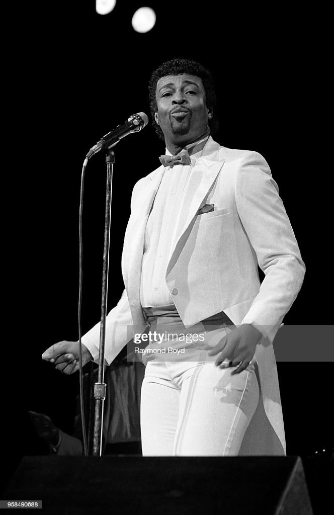Dennis Edwards Live In Concert : News Photo