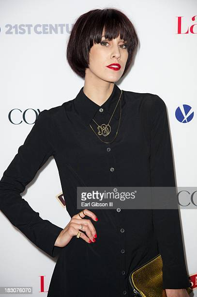 """Singer Dev attends the Latina Magazine """"Hollywood Hot List"""" Party at The Redbury Hotel on October 3, 2013 in Hollywood, California."""