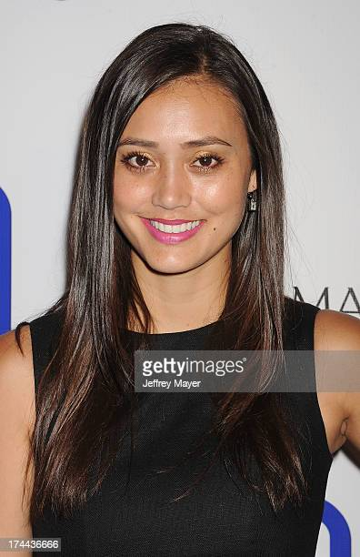 Singer Dia Frampton attends the Friend Movement AntiBullying Benefit Concert at the El Rey Theatre on July 1 2013 in Los Angeles California
