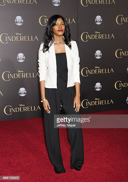 Singer Diamond White arrives at the World Premiere of Disney's 'Cinderella' at the El Capitan Theatre on March 1, 2015 in Hollywood, California.