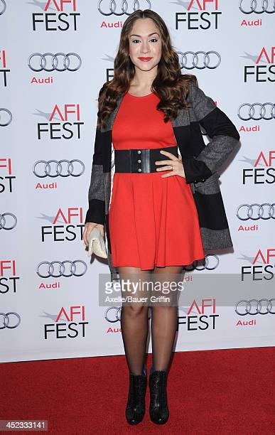 Singer Diana DeGarmo attends the screening of 'Lone Survivor' at AFI FEST 2013 at the TCL Chinese Theatre on November 12 2013 in Hollywood California