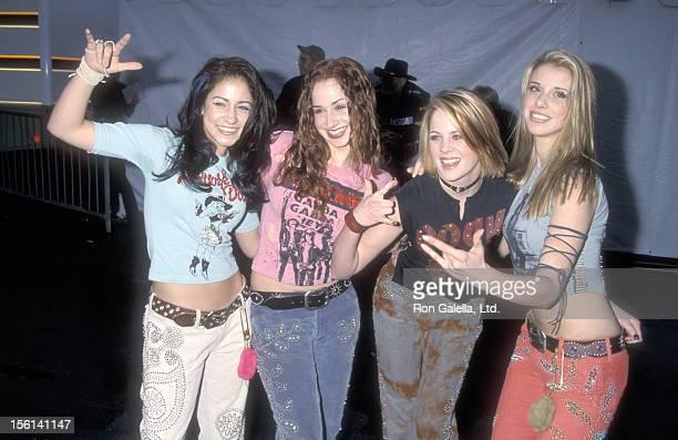 Singer Diana Ortiz Singer Holly BlakeArnstein Singer Ashley Poole and Singer Melissa Schuman