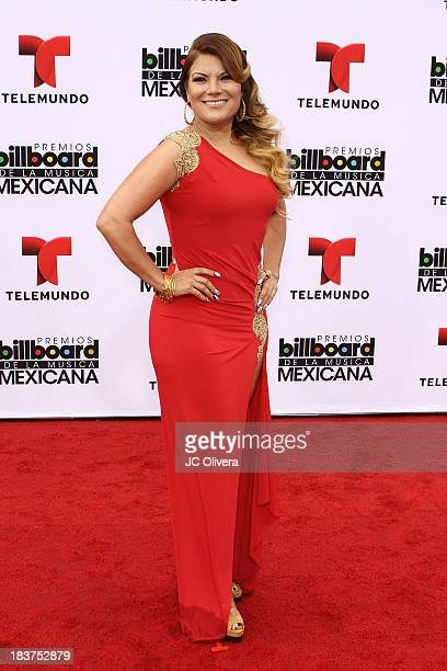 Singer Diana Reyes attends The 2013 Billboard Mexican Music Awards at Dolby Theatre on October 9 2013 in Hollywood California