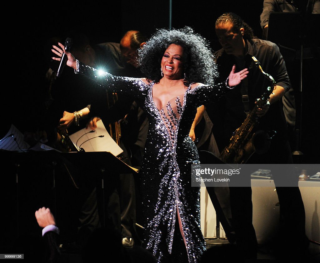 Singer Diana Ross performs at Radio City Music Hall on May 19, 2010 in New York City.