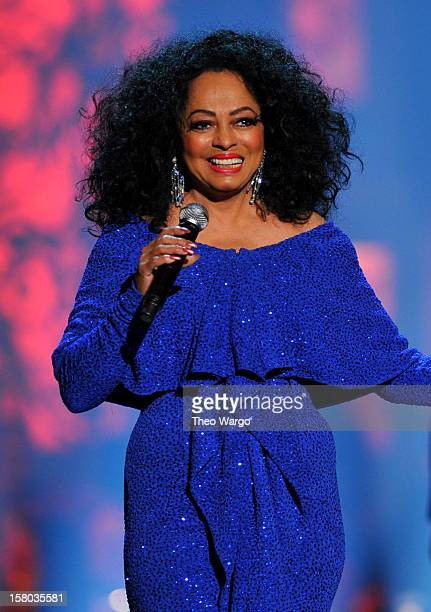 Singer Diana Ross performs onstage during TNT Christmas in Washington 2012 at National Building Museum on December 9 2012 in Washington DC...
