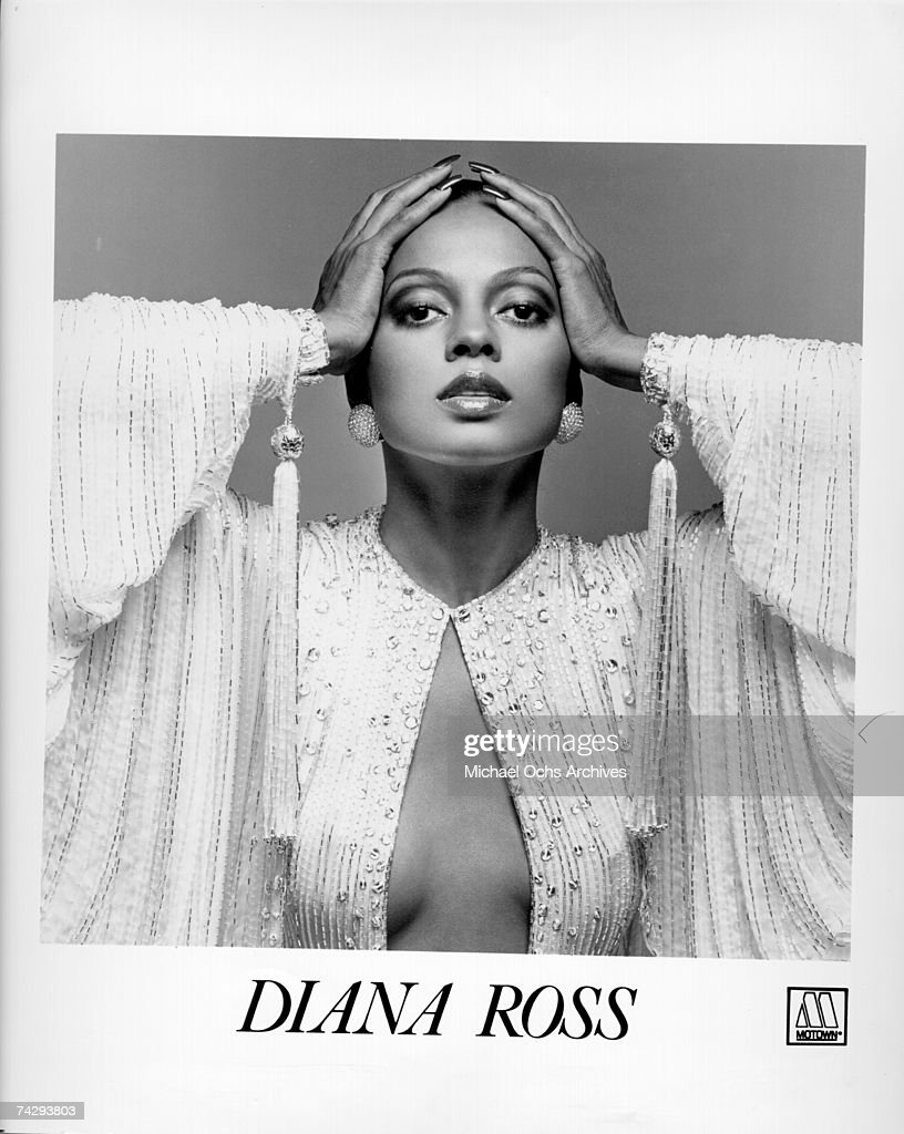 Singer Diana Ross poses for a Motown publicity still circa 1977.