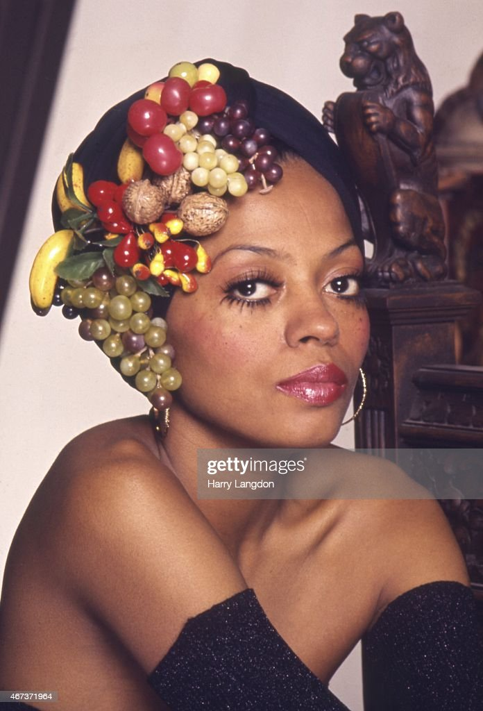 Diana Ross Portrait Session : News Photo