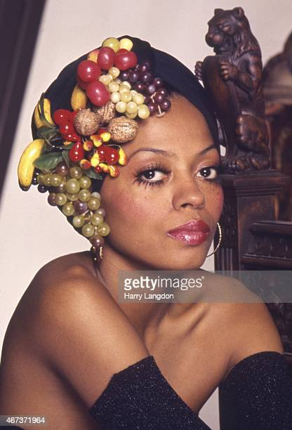 Singer Diana Ross poses for a portrait in 1984 in Los Angeles California