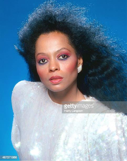 Singer Diana Ross poses for a portrait in 1987 in Los Angeles California