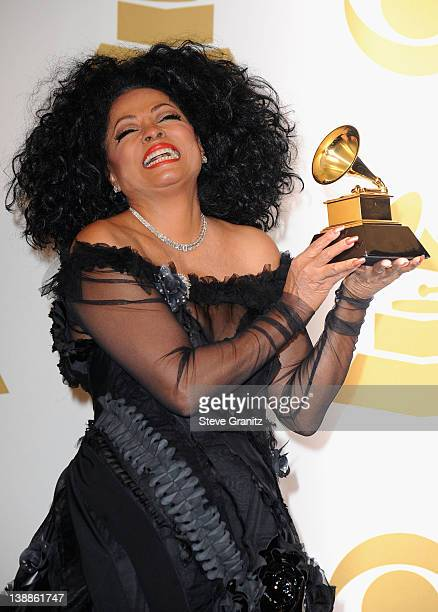 Singer Diana Ross poses in the Media Center during the 54th Annual GRAMMY Awards at Staples Center on February 12, 2012 in Los Angeles, California.