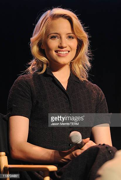Singer Dianna Agron attends the Glee Academy Screening and QA on May 4 2011 in Hollywood California